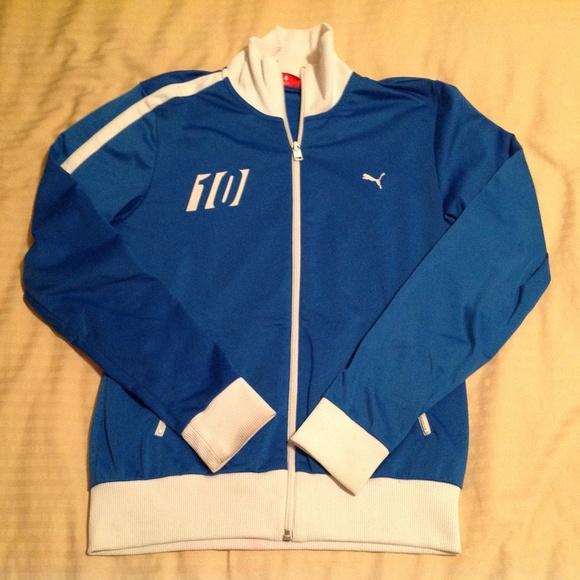 Puma Other - Puma Boy's Italia Soccer Jacket Size Large